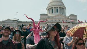 'Hail Satan?' charts the quest for protecting personal freedoms